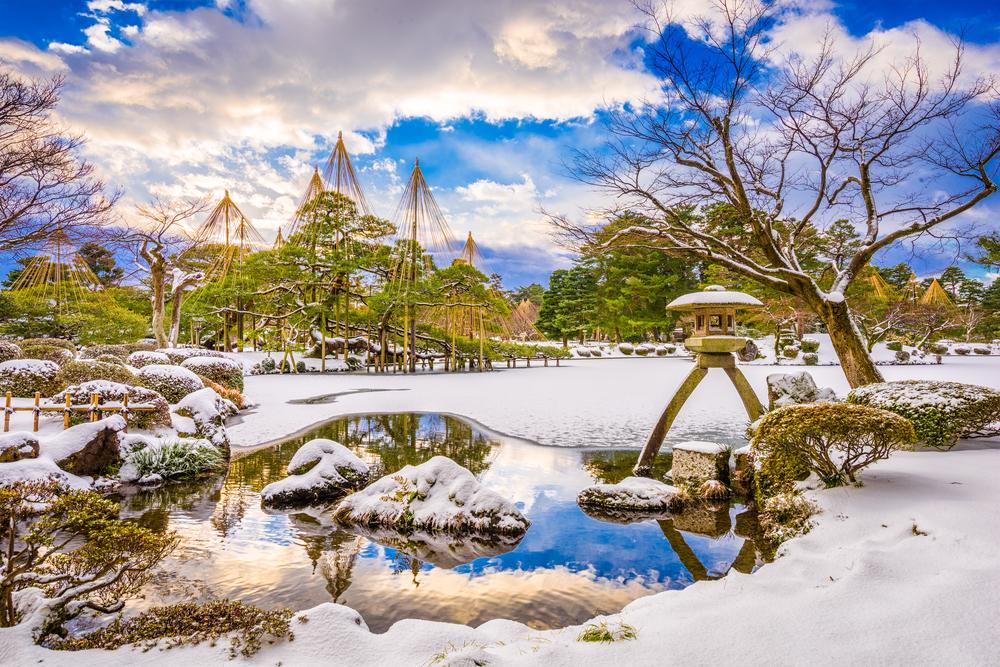 兼六園の冬