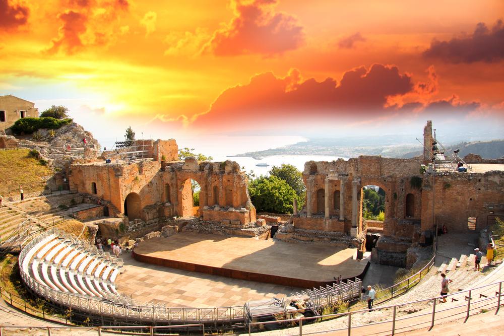 シチリア島の遺跡