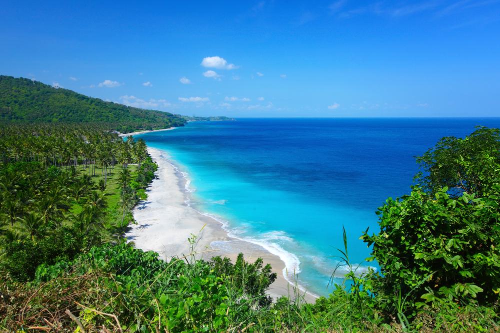 インドネシア、ロンボック島