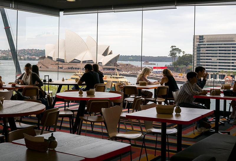 シドニーの有名スポットが一望できる穴場カフェ