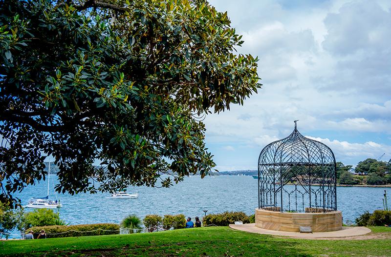 街のなかのオアシス的存在となっているロイヤル・ボタニック・ガーデン