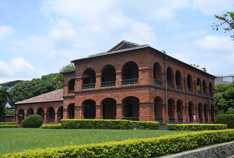 淡水の人気観光地、「ホンマオチャン(紅毛城)」内にある前(旧)清英國領事官邸