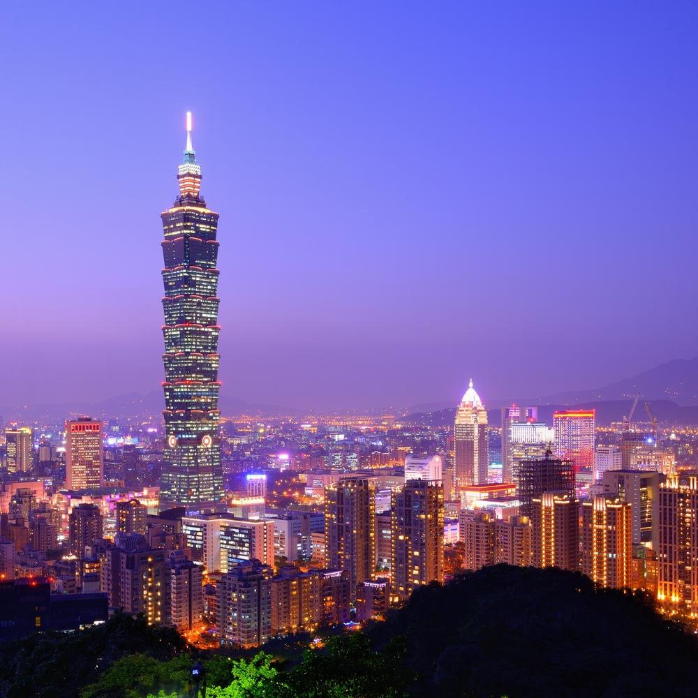 台湾のスカイライン