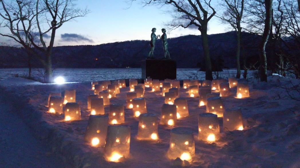 毎年2月に開催される「十和田湖冬物語2018」