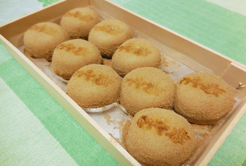 和菓子の伝統を守る「珍重庵(ちんちょうあん)」の「もうで餅」