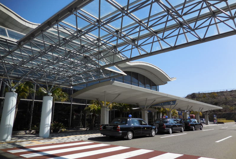 南紀白浜空港のタクシー乗り場