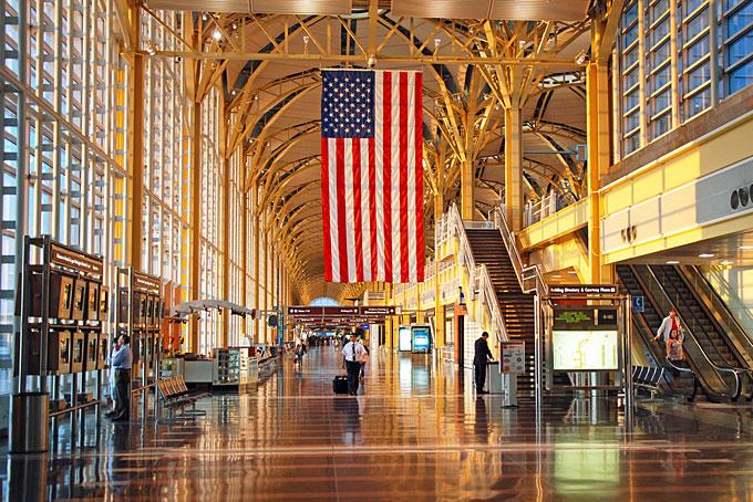 ロナルド・レーガン・ワシントン・ナショナル空港、アメリカ