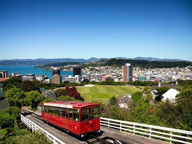 ニュージーランド、ウィリントンの景色